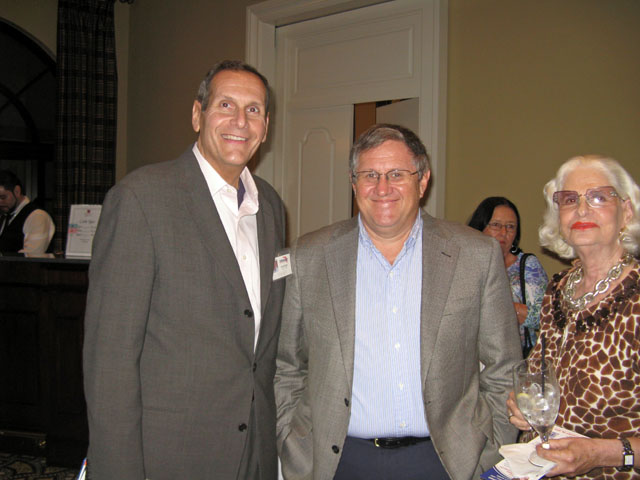 Congressional District 18 Candidate Alan Schlesinger (at left)